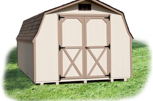 10 ft by 12 ft Mini barn by Yoder Building Company