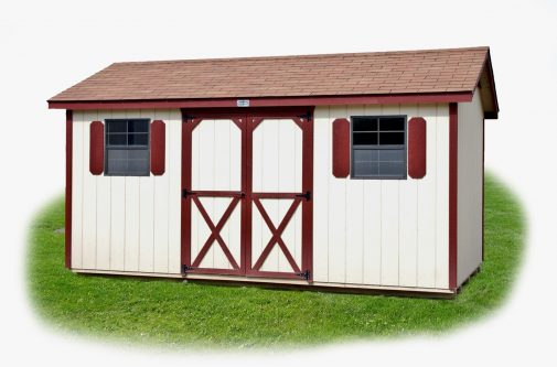 Cottage Shed by Yoder Building Company