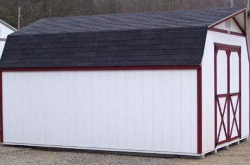 Gambrel Storage Shed by Yoder Building Company