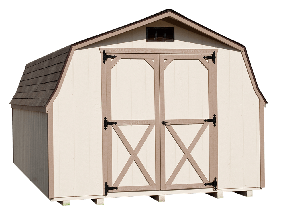 10' by 12' Mini Barn by Yoder Building Company