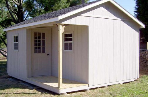 Garden Shed by Yoder Building Company